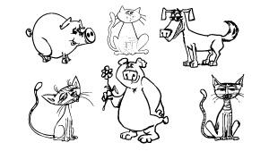 Dibujos De Animales Para Colorear Arbol Abc
