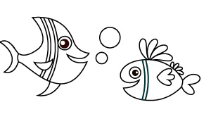 Dibujos Fáciles Para Colorear árbol Abc