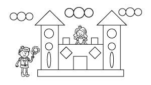 Dibujos Con Figuras Geométricas árbol Abc