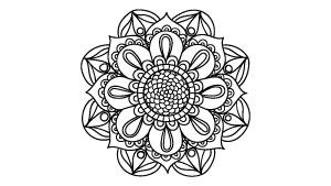 Dibujos De Mandalas Para Colorear árbol Abc