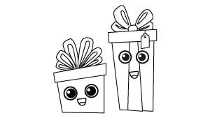 Bonitos Dibujos De Navidad Para Colorear Faciles.Dibujos De Navidad Para Ninos Arbol Abc