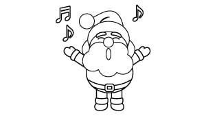 Dibujos De Navidad Para Niños árbol Abc
