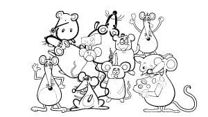 Contemos Los Ratones árbol Abc