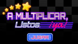 A multiplicar, lsitos ya, un juego para aprender la tabla de multiplicar del 2