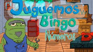 Bingo números hasta 50, un juego para niños