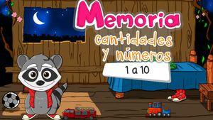 Memoria contar, un juego para aprender a contar