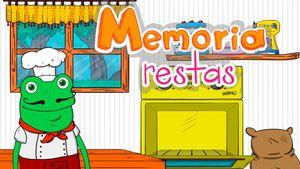 Memoria, un juego para aprender a restar hasta 20
