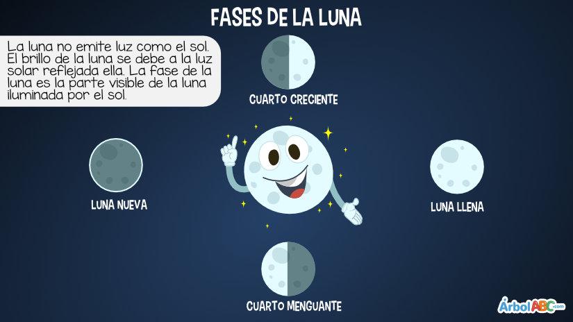 La Luna y sus fases | Árbol ABC
