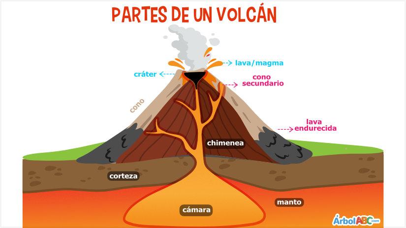 Qué Es Un Volcán árbol Abc